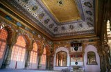 Jodhpur was founded in 1459 by Rao Jodha, a Rajput chief of the Rathore clan. Jodha succeeded in conquering the surrounding territory and thus founded a state which came to be known as Marwar. As Jodha hailed from the nearby town of Mandore, that town initially served as the capital of this state; however, Jodhpur soon took over that role, even during the lifetime of Jodha. The city was located on the strategic road linking Delhi to Gujarat. This enabled it to profit from a flourishing trade in opium, copper, silk, sandals, date palms and coffee.&lt;br/&gt;&lt;br/&gt;